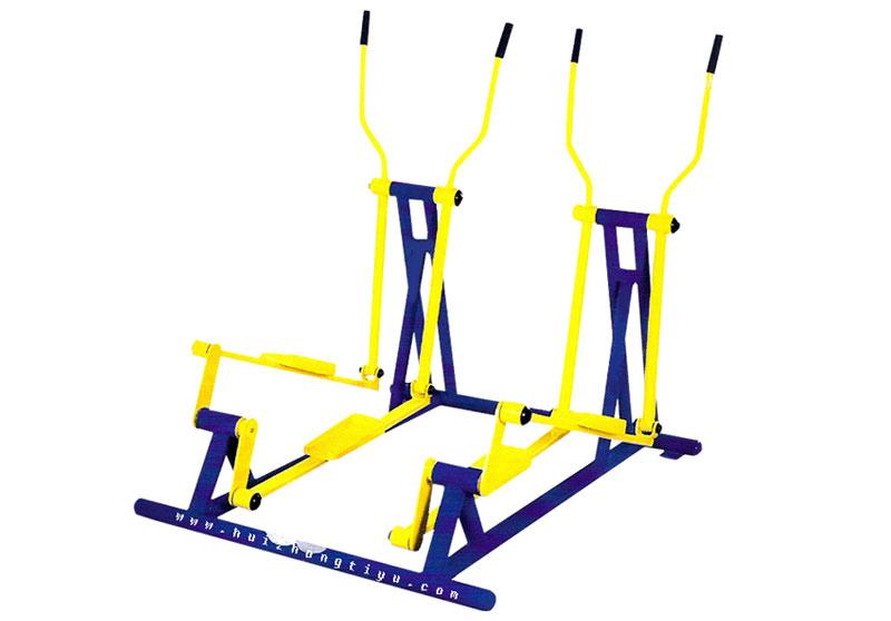 椭圆机(双人)lj-007 室外健身器材 室外路径